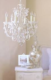 fancy pale pink chandelier 16