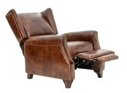 vintage leather recliner grandpa