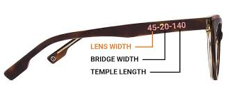 you can easily found the size of frame by looking on the inside of your eyeglass temples arm pieces below you ll find a quick guide to helping you