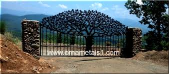 Decorative Metal Gates Design New Custom Entrry Gate Driveway Gates Iron Gates Metal Sculpture
