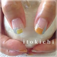 変形フレンチフレンチネイル福岡市中央区のネイル爪のお手入れ