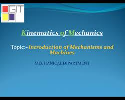 powerpoint presentations mechanical engineering community kinematics of mechanics