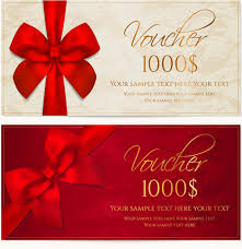 gift card formats ornate gift voucher vintage template vector free vector in