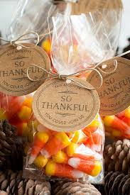 Thanksgiving Favors - 3 Thanksgiving Party Ideas - perfect goodie bags for  kids and adults |