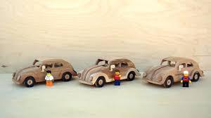 wooden toy volkswagen beetle