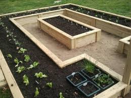 raised bed garden this is so practical yet very pretty to look at