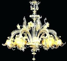 venetian glass chandelier vintage parts sound co murano