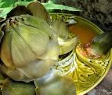 alcachofas en vinagreta aromatica  artichokes in vinaigrette