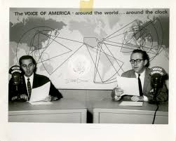Image result for The announcer of the VOA to the Far East in around 1946