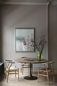 Chaise En Bois Clair Originale Table De Cuisine Ronde Salle A