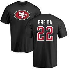 Matt Name Francisco Nfl 49ers Breida Number San Black Nike Logo T-shirt amp; 22 fcadbedacdebbf|JAN 23. JAN 30 JAN 31