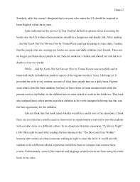 lauren dukes reflective essay esed g 2