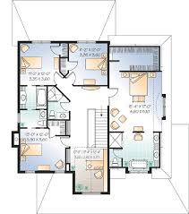 Family Centric House Plan   DR   CAD Available  Canadian    Reverse Floor Plan Pinit white