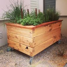 raised pallet planter box. putting wheels on a raised garden planter - google search | gardening faves pinterest planters, planters and pallet box