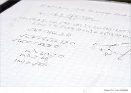 an algebra mathematic problem on a sheet of graph paper
