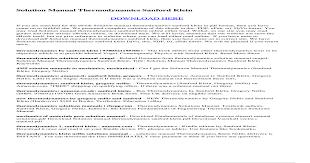 Solution manual-thermodynamics-sanford-klein