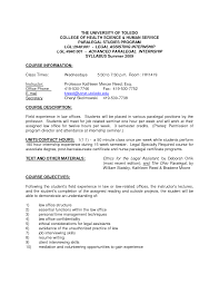 Cover Paralegal Resume Cover Letter