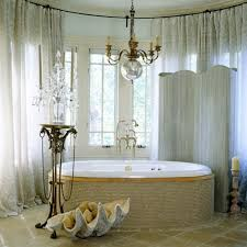 bathroom amazing mini crystal bathroom chandeliers using chrome theme with oval tub and candelabrum also
