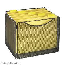 com safco s 2170bl onyx mesh desktop box file 10 deep letter size black suggestion bo office s