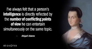 Abigail Adams Quotes Magnificent TOP 48 QUOTES BY ABIGAIL ADAMS Of 48 AZ Quotes
