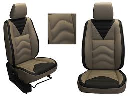 picture of honda wrv custom fit leatherette 3d car seat covers pl206 vibro