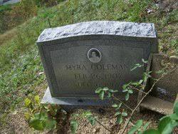 Myra Coleman (1907-1967) - Find A Grave Memorial