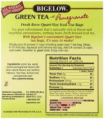 amazon bigelow green tea with pomegranate iced tea 8 count bo pack of 6 48 tea bags total black tea bags for brewing iced tea each bag brews