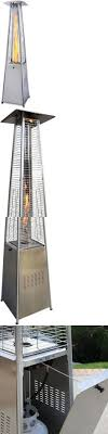 pyramid outdoor gas patio heater with dancing flame. patio heaters 106402: garden radiance grp4000ss dancing flames stainless steel pyramid outdoor -\u003e buy gas heater with flame