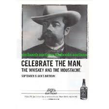 jack daniel s whiskey whisky moustache original magazine advert  jack daniel s whiskey whisky moustache original magazine advert 12604