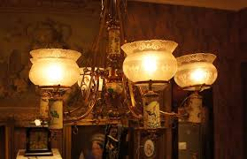 newport lighting concepts and design. circa 1880\u0027s. fitted for electricity, original shade rings (5\ newport lighting concepts and design
