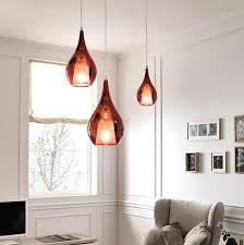 drop lighting. Italian Glass Tear Drop Pendant Light | Assorted Finishes LED Compatible Lighting