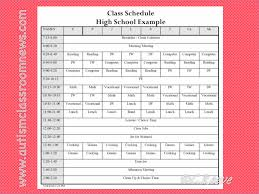 Schedule Table Maker High School Timetable Generator Xsonarnow