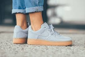 womens nike air force 1 white. The Women\u0027s Nike Air Force 1 Low Gets Another Monochromatic Colorway This Fall 2017 And In Form Of Glacier Grey. Sneaker Is Covered Premium Suede Womens White