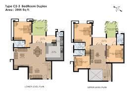 Townhouse Plans Row House Plans 4 Bedroom Duplex House Plans4 Bedroom Duplex Floor Plans