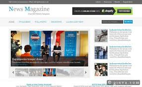 Newspaper Website Template Free Download 125 Free High Quality X Html And Css Web Layout Templates