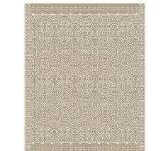 luna custom tufted rug stone