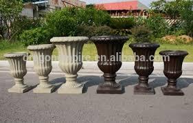 Decorative Garden Urns Faux Stone Look Fiber Clay Decorative Garden Urns Planters Buy 31
