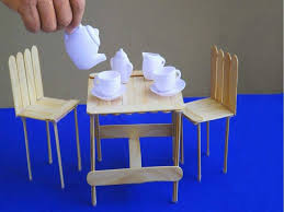 how to make miniature furniture. Popsicle Stick Furniture Fresh Before How To Make Miniature Table And Chairs