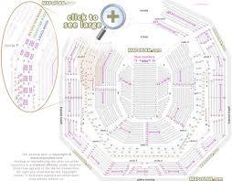 Seat Row Numbers Arena Stalls Circle Loggia Grand Second