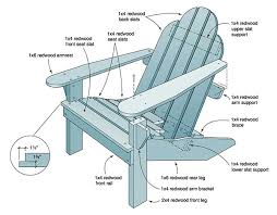 adirondack chairs plans templates. Plain Chairs Redwood Adirondack For Chairs Plans Templates A