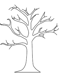 Small Picture Fall tree coloring pages without leaves ColoringStar