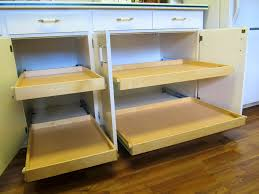 Rolling Kitchen Cabinets Diy Kitchen Cabinet Slide Outs Cliff Kitchen