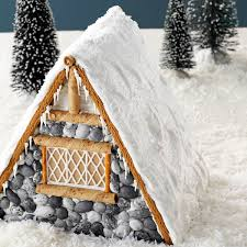 Ideas using gingerbread christmas home decorations Themed Gingerbread Lodge Taste Of Home 20 Adorable Gingerbread House Ideas Taste Of Home