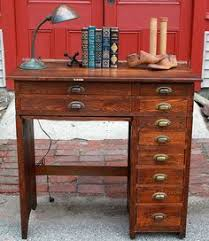 An Antique Oak WatchMakers Bench Full Of Extras 090612 Sold Watchmaker Bench For Sale