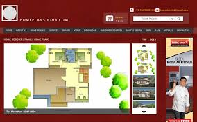 home plans in india 2000 sq ft 4 bedroom duplex family house plan