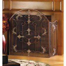 iron fireplace screen. Antique Style Wrought Iron Italian Design Folding Fireplace Screen N