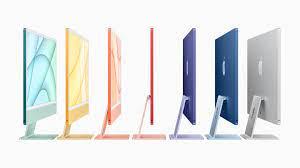 iMac mit komplett neuem Design in lebendigen Farben, M1 Chip und 4,5K  Retina Display - Apple (DE)