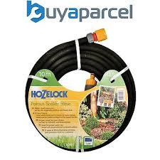 hozelock 10m 12 5mm standard soaker garden hose pipe kit 6761