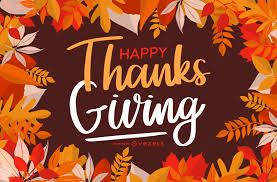 Happy Thanksgiving Greeting Card Design Vector Download