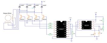 circuit diagram of stepper motor driver